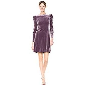 NWT Vince Camuto Velvet Dress with Puff sleeve